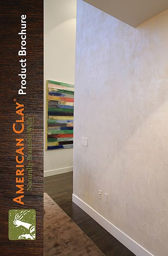 American Clay plaster products, manufactured in New Mexico are a healthy and creative solution for beautiful interiors.