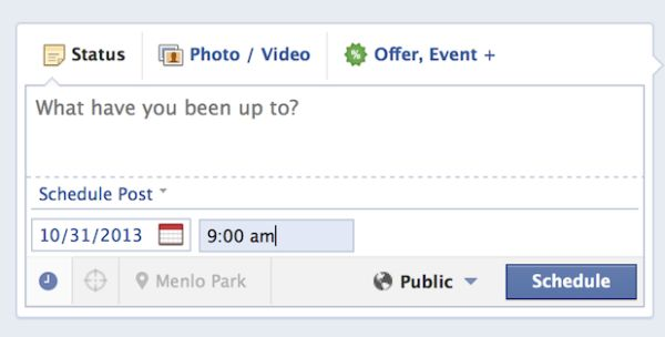 Facebook Upgrades Post Scheduling From 12 Steps Down To 4 & Now Shows In Activity Log
