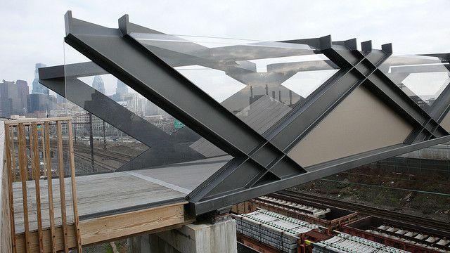 Cecil Balmond bridge at U Penn | Flickr: Intercambio de fotos