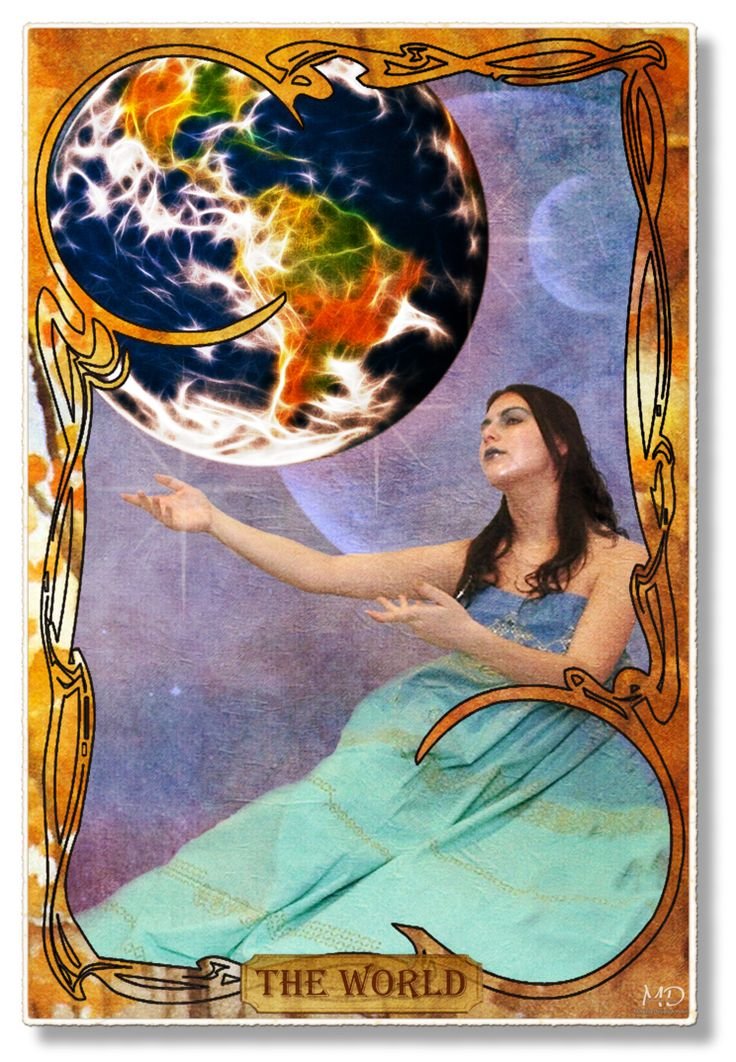 17 Best Images About The World (Tarot Card) On Pinterest