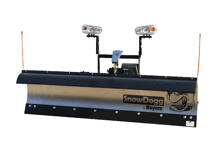 "MD68-SnowDogg Snow Plow 6'8"" Medium-Duty Straight Blade"