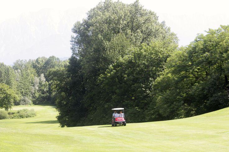 The course. Golf Club Udine, Fagagna - Italy.