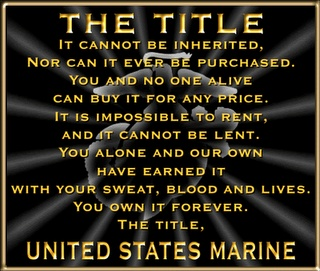 The Few and The Proud!!