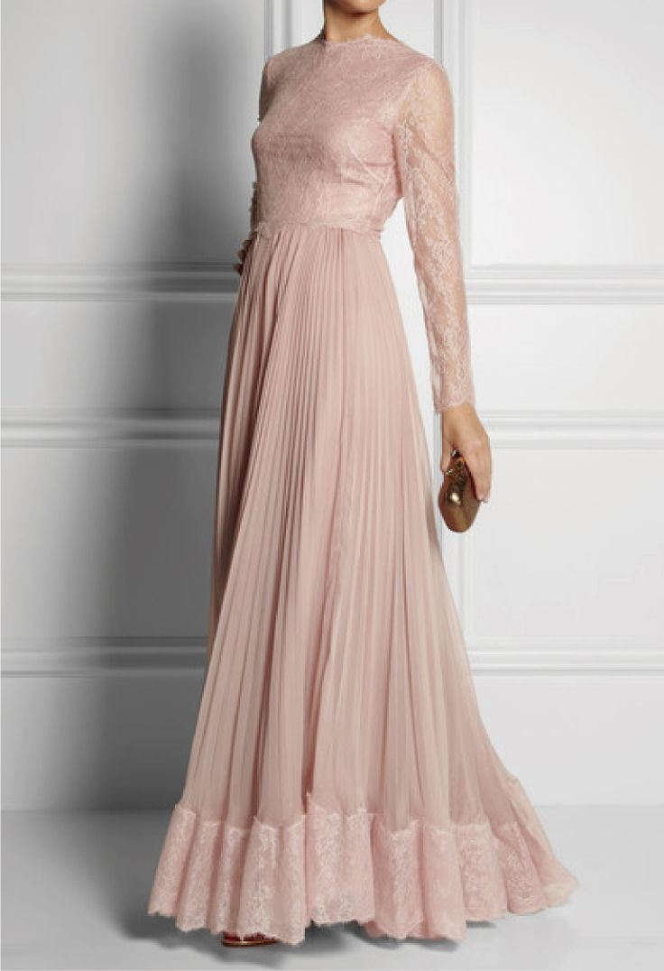 Valentino Very modest  I love it