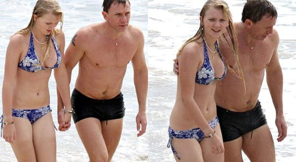 Ella Craig and Daniel Craig - daughter and father