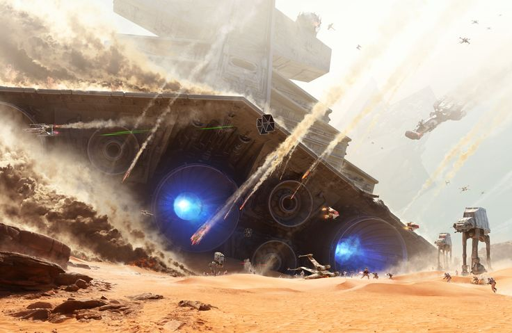 EA Previews the Battle of Jakku in Star Wars Battlefront! | StarWars.com