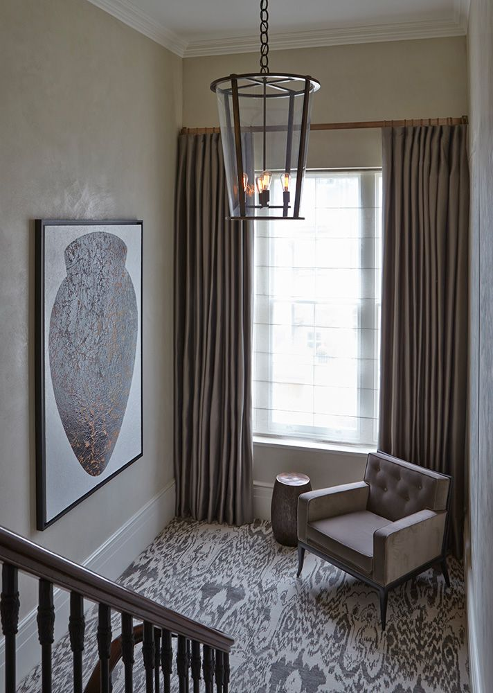 IKAT wall to wall carpet.  INTERIOR DESIGN ∙ LONDON HOUSES ∙ BELGRAVIA - Todhunter EarleTodhunter Earle