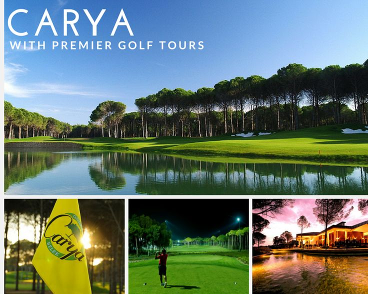 """Join us this October for our tour to Turkey which will include rounds at Carya Golf Club. Located in Antalya's Belek region, this par-72 course is characterised by beautifully manicured greens and lush fairways naturally laid out through native pine forests. Though visually stunning, Carya also provides an exciting challenge to golfers of all abilities. Each hole can be played in a variety of ways and those who """"think their way around"""" will be rewarded."""