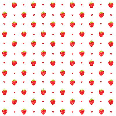 free digital strawberry scrapbooking paper and embellishment - Clipart Erdbeere und Papier - freebie | MeinLilaPark – DIY printables and downloads