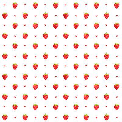 free digital strawberry scrapbooking paper and embellishment - Clipart Erdbeere und Papier - freebie | MeinLilaPark – DIY printables and downloads
