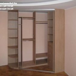 Угловые шкафы-купе под и на заказ   Maxim Мебель в Гомеле