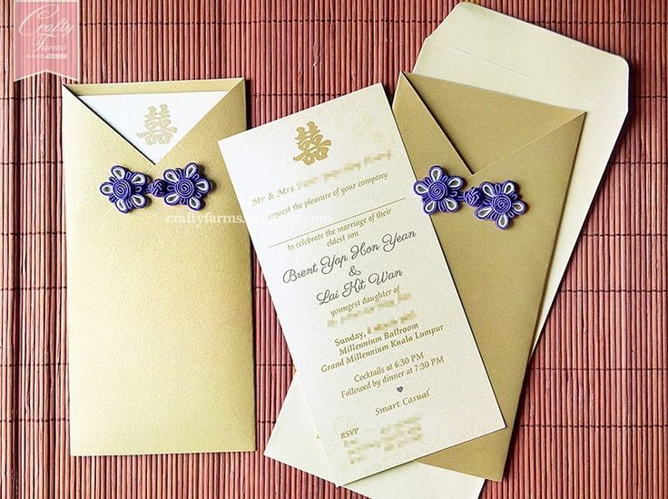 Best 25 Chinese wedding invitation ideas – Chinese Wedding Invitation Cards