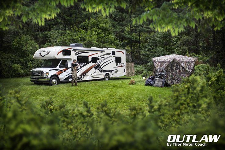 Outlaw RV - Class C Toy Hauler.    http://outlawrv.com/class-c/?_ga=1.248147521.752712967.1442418069