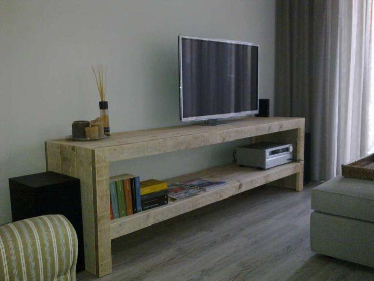 tv meubel wit steigerhout - Google zoeken