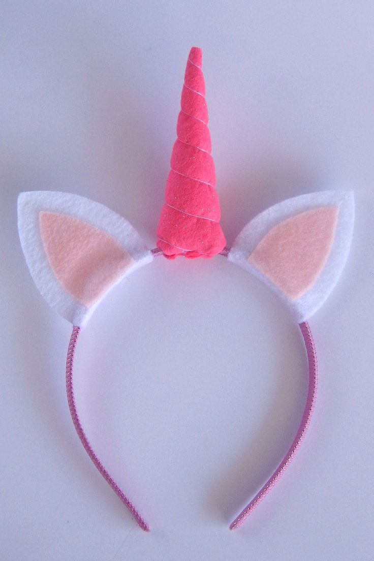 Unicorn Headband. $7.00, via Etsy.