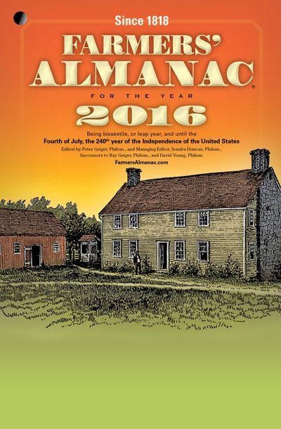 2016 Farmers' Almanac