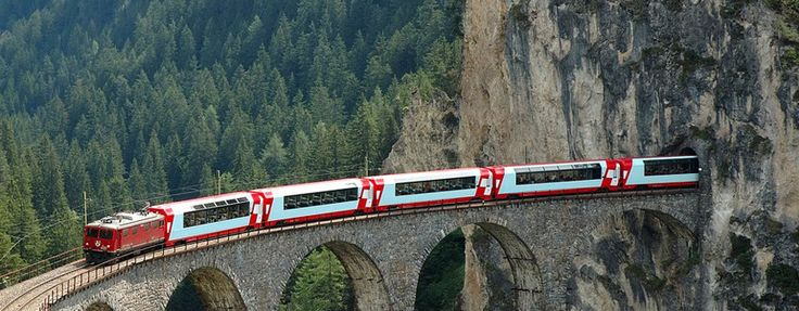 Glacier Express Itineraries - Switzerland