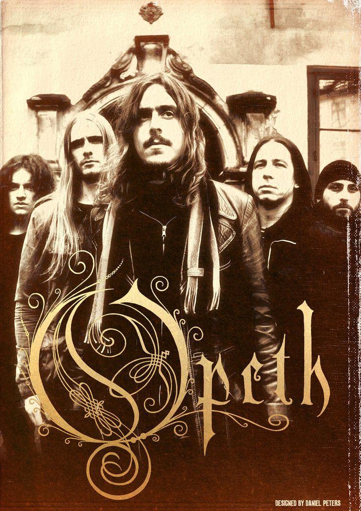 Opeth kommer til Slottsfjell! Les mer om Opeth på våre hjemmesider www.slottsfjell.no