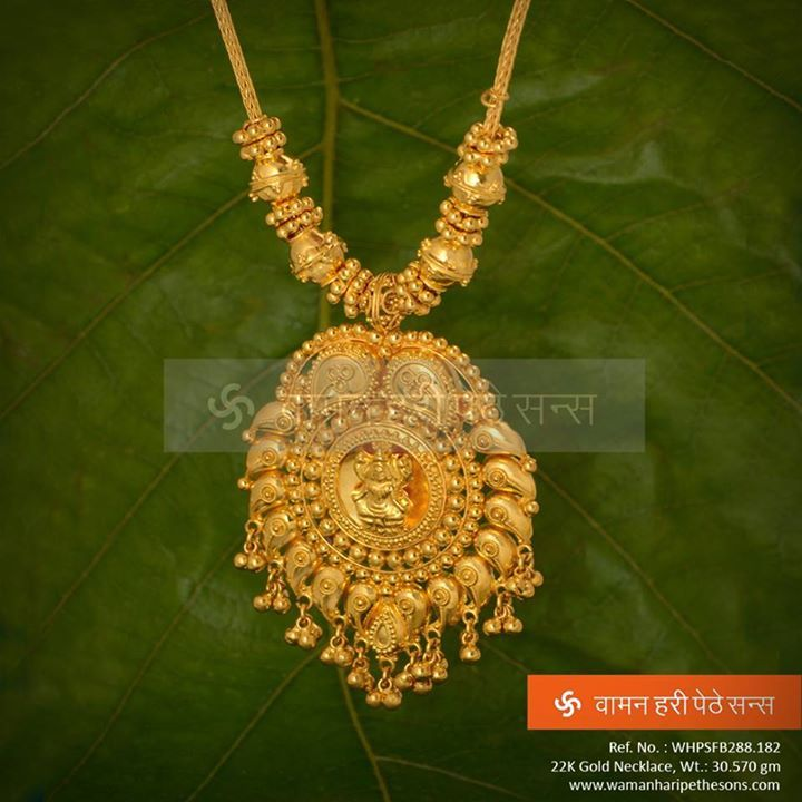 #Traditionally #Crafted and #Designed #Gold #Necklace from our vast collection.