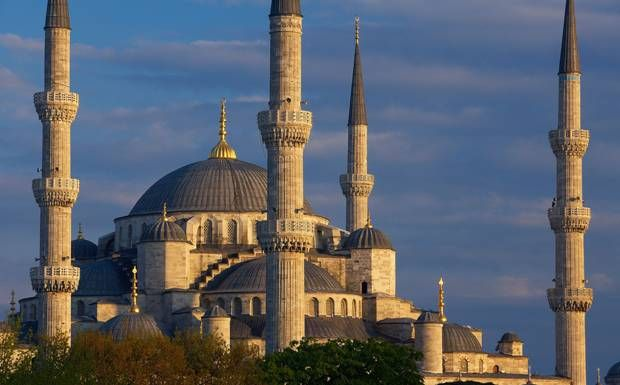Sutanahmet's Blue Mosque (named so because the interior is tiled with blue Iznik tiles) • Istanbul city break guide - Telegraph