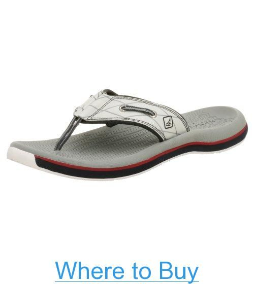 Sperry Top-Sider Mens Santa Cruz Thong Sandals