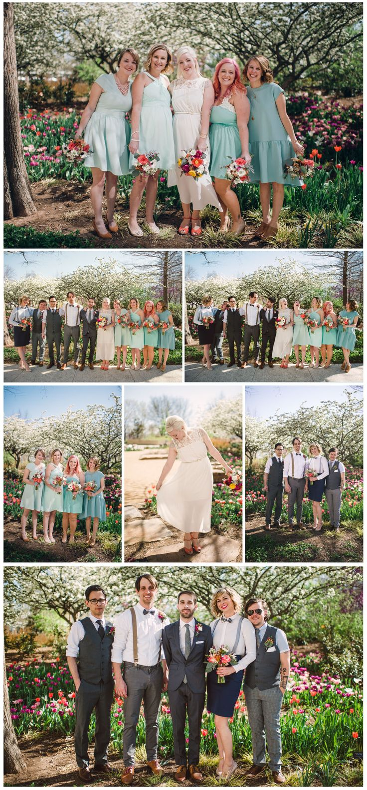 Myriad Gardens Wedding Photography Oklahoma Hibben