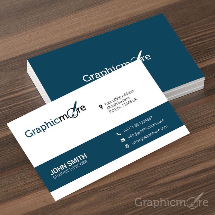 31 best visiting card images on pinterest visit cards business 25 best free business card psd templates for 2016 reheart Images
