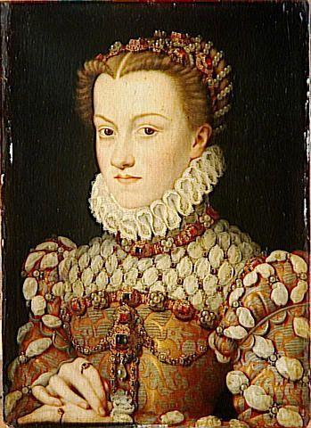 13th Maternal GG. Catherine De Medici, Queen of France, the cousin of Maria de Medici