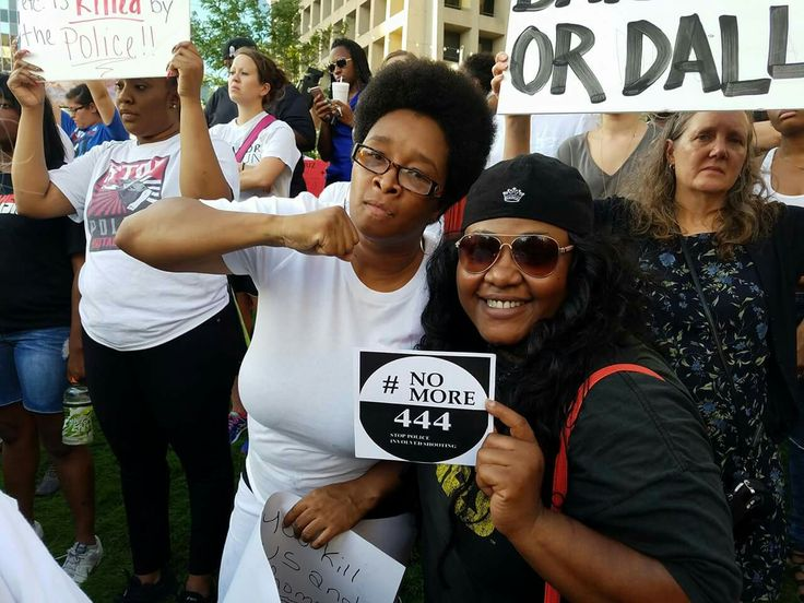Marching Downtown Dallas 7/16