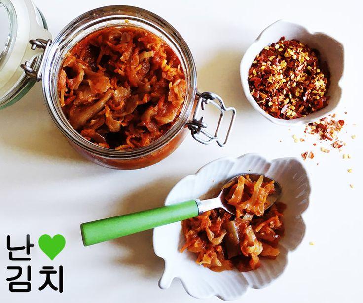 ricetta kimchi vegan