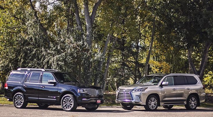 A battle of large luxury SUVs. Find out how the Lexus LX570 compares to the Lincoln Navigator as we examine both vehicles.