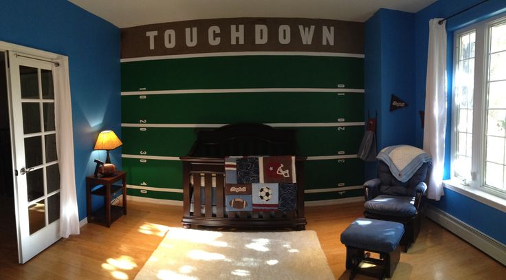 Our baby boys room is finally done!
