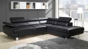 The Darkness II is an elegant corner sofa bed that comes with 3 adjustable headrests.