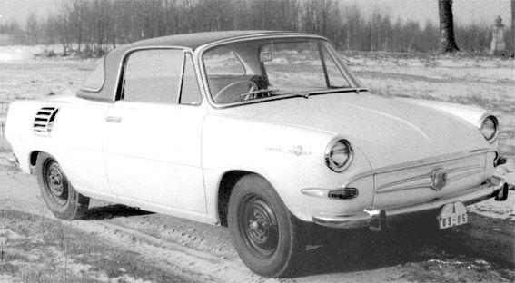 OG   1963 Škoda 991 Hardtop   Prototype