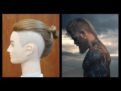 Man Bun Undercut - Josh Mario John Inspired Haircut - TheSalonGuy - YouTube