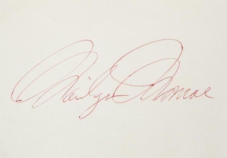 Julien's Auction 11/2012 - Documents papiers - Divine Marilyn Monroe