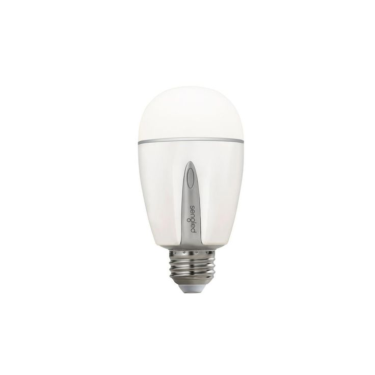 Sengled Element Touch 60W Equivalent Soft White to Cool White A19 Dimmable LED Light Bulb and On-Bulb Color Temperature Selector