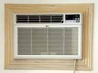 DIY Cost to Build an AC Unit into a Wall - Here's an example of a nice installation that we found in a rental home in the Florida Keys. Compare how much it costs to DIY vs. hire a carpenter.