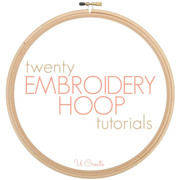 The 63 Best Images About Make It With Embroidery Hoops On