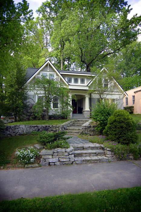 NeelyDesign Portfolio - Renovations and Restorations......love the hardscape w/ terraced lawn