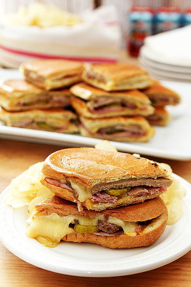 Authentic Cubano Sandwich from @creativculinary