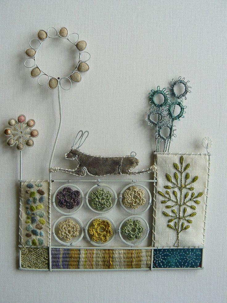 Liz Cooksey - Textitle Artist - Gallery I