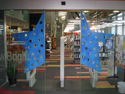 Matariki display at New Brighton Library