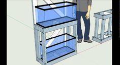 #77: How to Build a 20 Gallon Long Aquarium Rack - DIY Wednesday