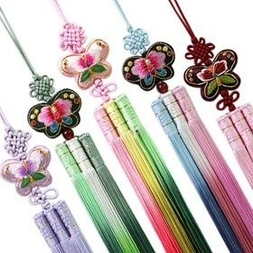 ★Butterfly embroidery Norigae☆★Norigae☆ butterfly Norigae★