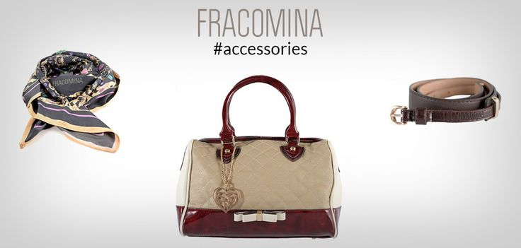 Pick the right Fracomina accessories for your style!