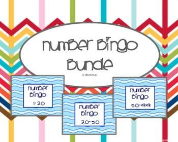 Number Bingo 1-20, 20-50 & 50-99 (BUNDLE) (scheduled via http://www.tailwindapp.com?utm_source=pinterest&utm_medium=twpin&utm_content=post104178119&utm_campaign=scheduler_attribution)