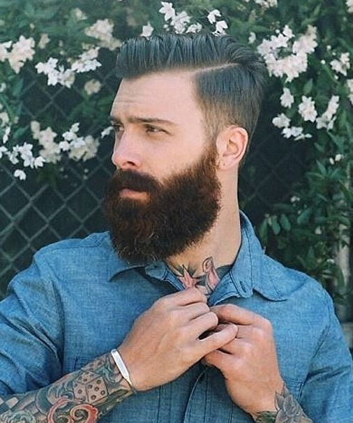 Learn how to straighten, unmanageable wavy #beards. Straighten Your Beard - Grow a Beard Now!