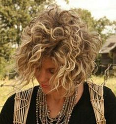 curly bobs - Google Search