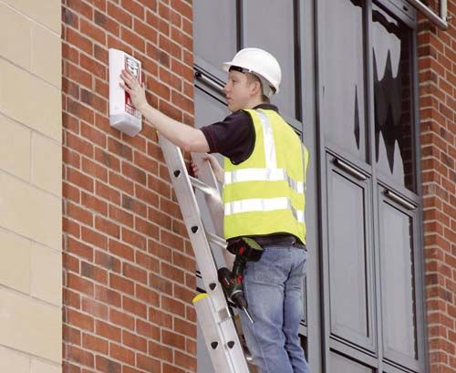 WERNER Box Section Double Extension Ladder. LaddersStorage DesignExtensions